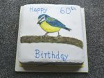Blue Tit Birthday Cake